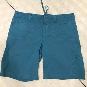 ATHLETA  Teal Dipper Bermuda Hiking Shorts